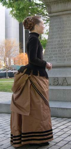 1880s Day And Evening Dress