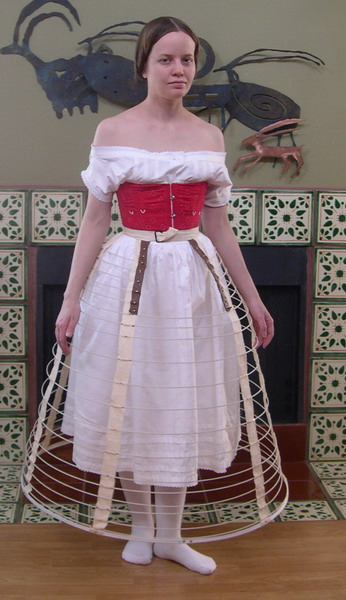 An 1855 Ball Gown The Underthings