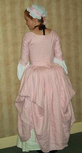 eighteenth century costume. My late 18th Century Polonaise